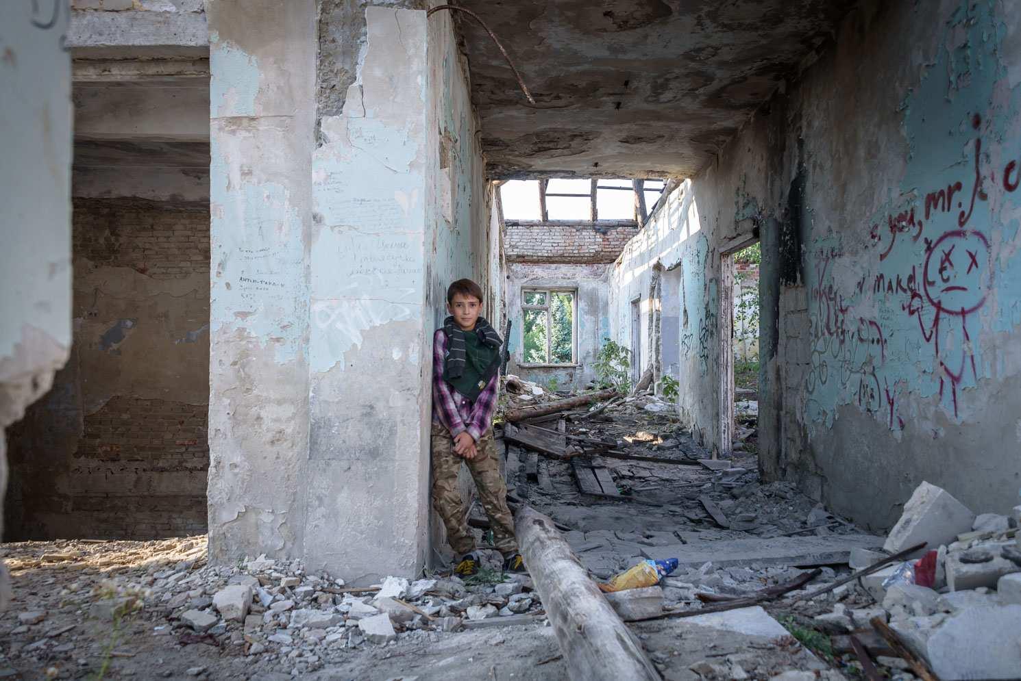 руины война старый дом