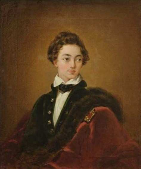 Болеславский М. А., портрет Князя Виктора Ивановича Барятинского (1823-1904), 1845 г., Самарский областной художественный музей.