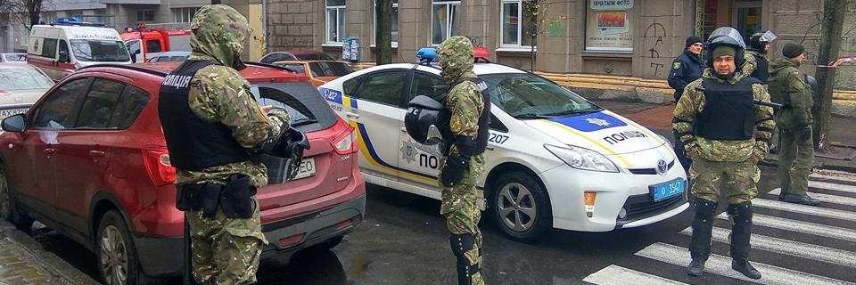 Детективы Национального антикоррупционного бюро проводят обыски в Харькове
