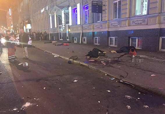 Задержана шофёр Лексуса, сбившая насмерть 5 человек вцентре Харькова