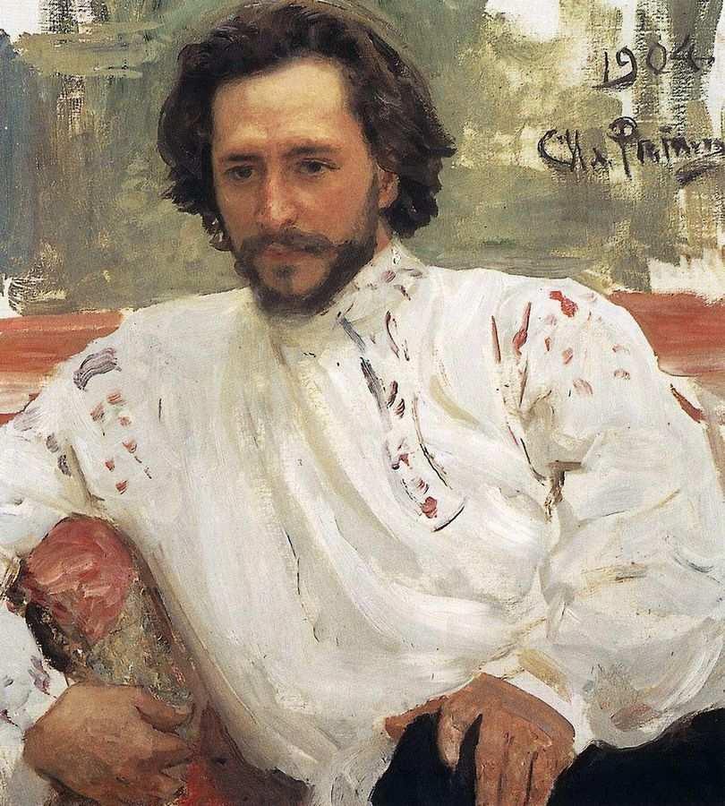 Леонид Андреев, портрет работы Ильи Репина