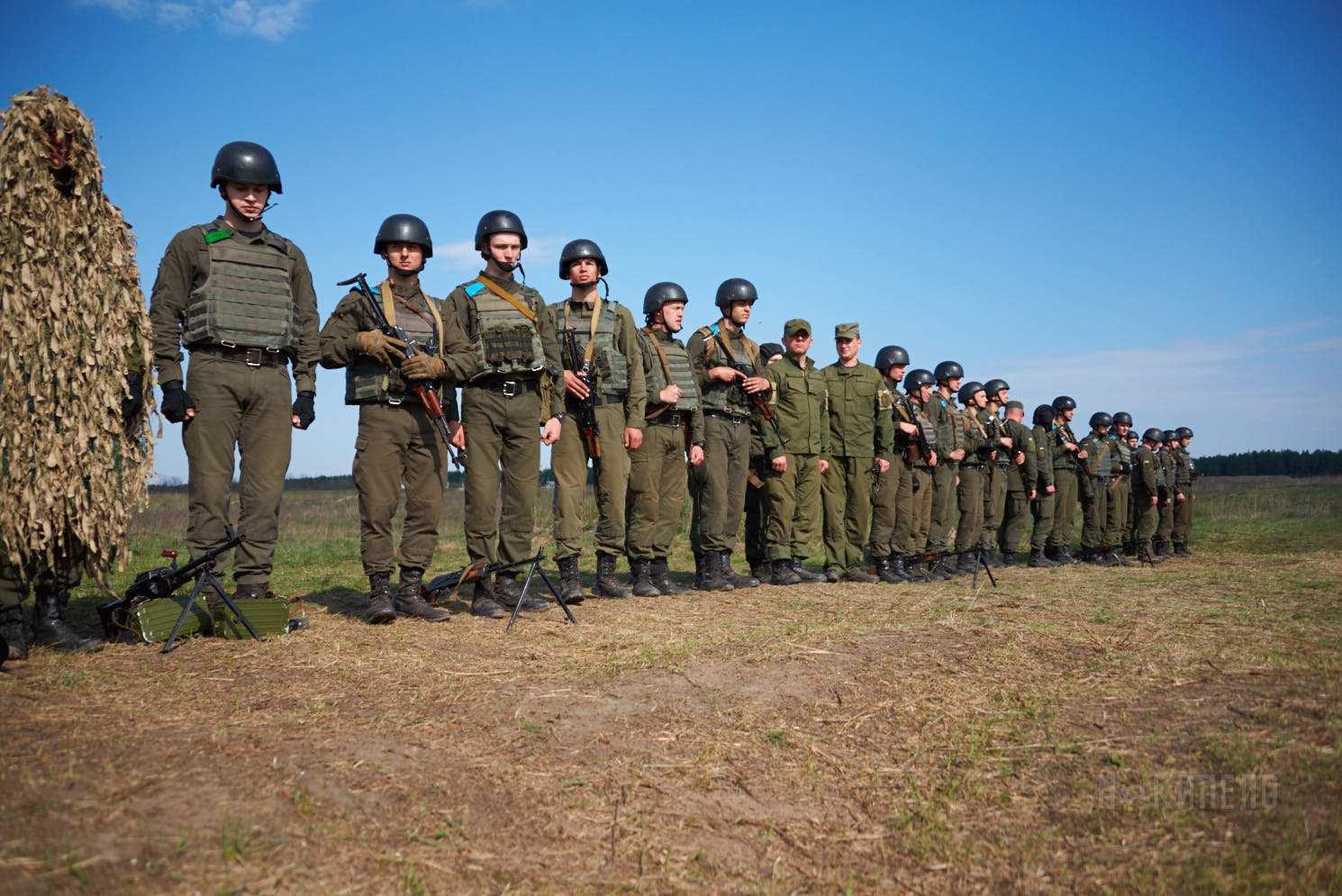 военные учения зсу нацгвардия