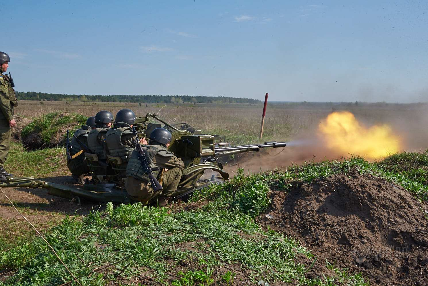 брдм бтр стрельба учения полигон башкировка зенитная установка зу