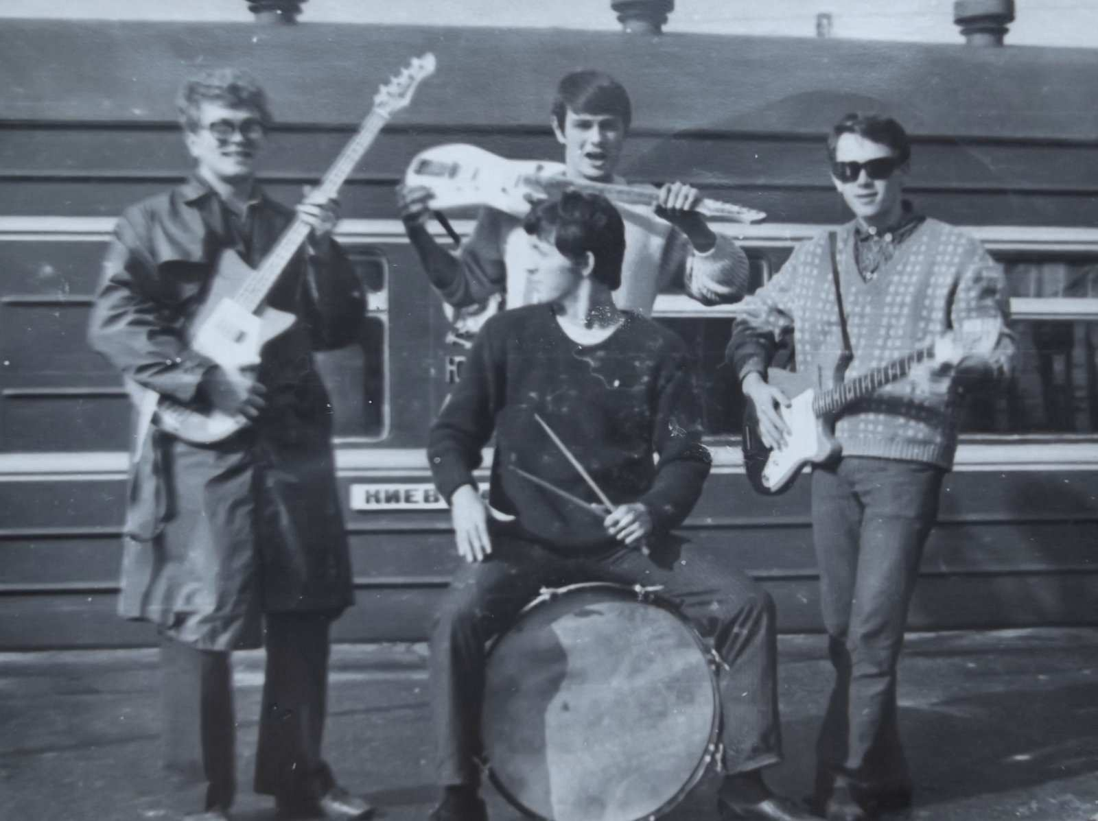 5 Приезд из Киева-1968г. Конкурс _Алло,мы ищем таланты_ Республиканский конкурс-1-е место.