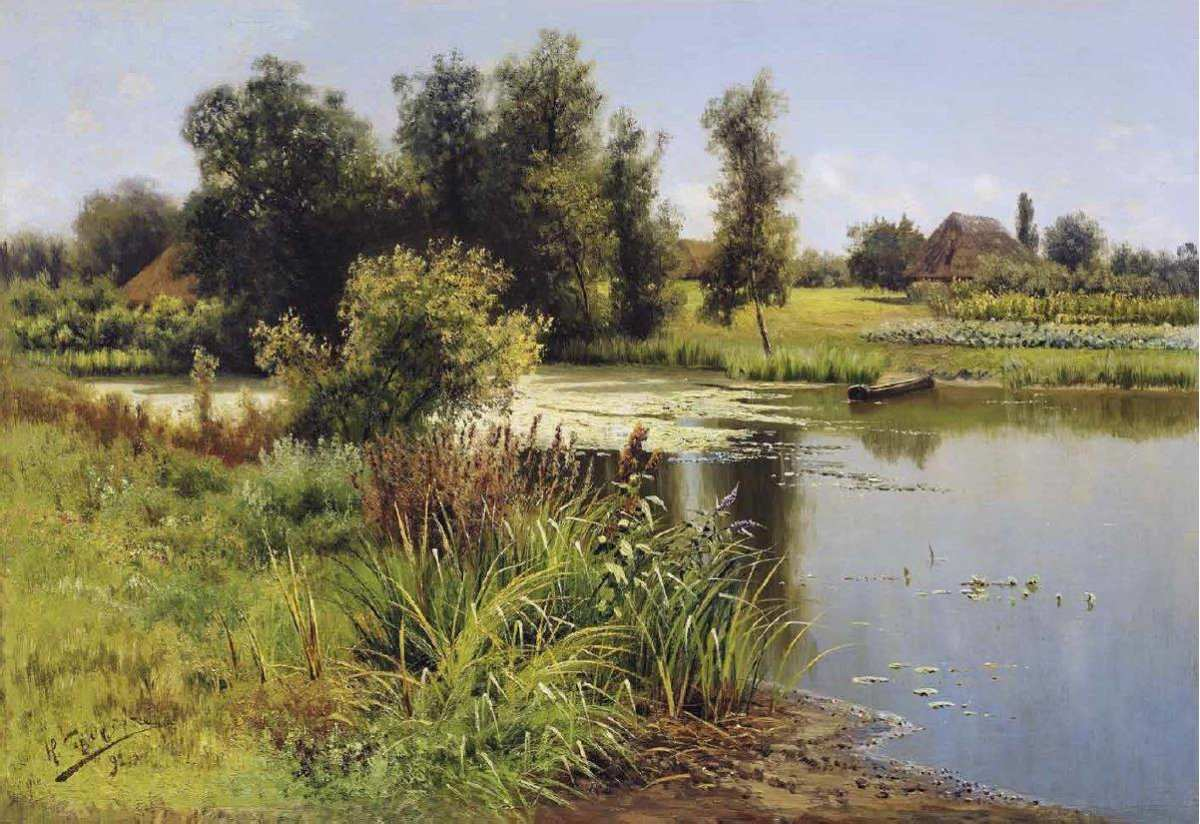Николай Сергеев, 1892 г., «У пруда»