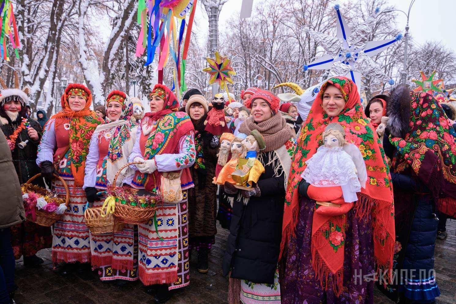 вертеп фест зима колядка украина традиция славимо иисуса иисус народився гуляние праздник зима харьков