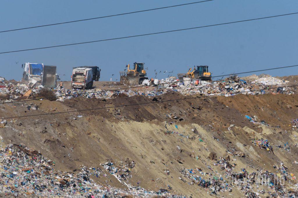 мусорка мусорный полигон мусор